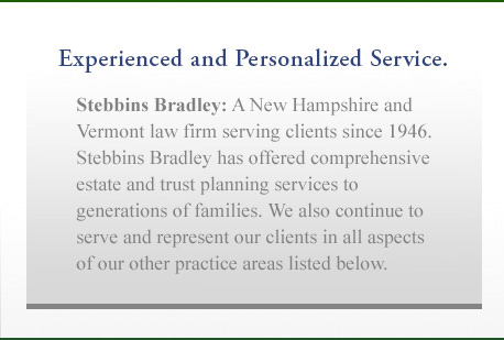 Experienced and Personalized Service